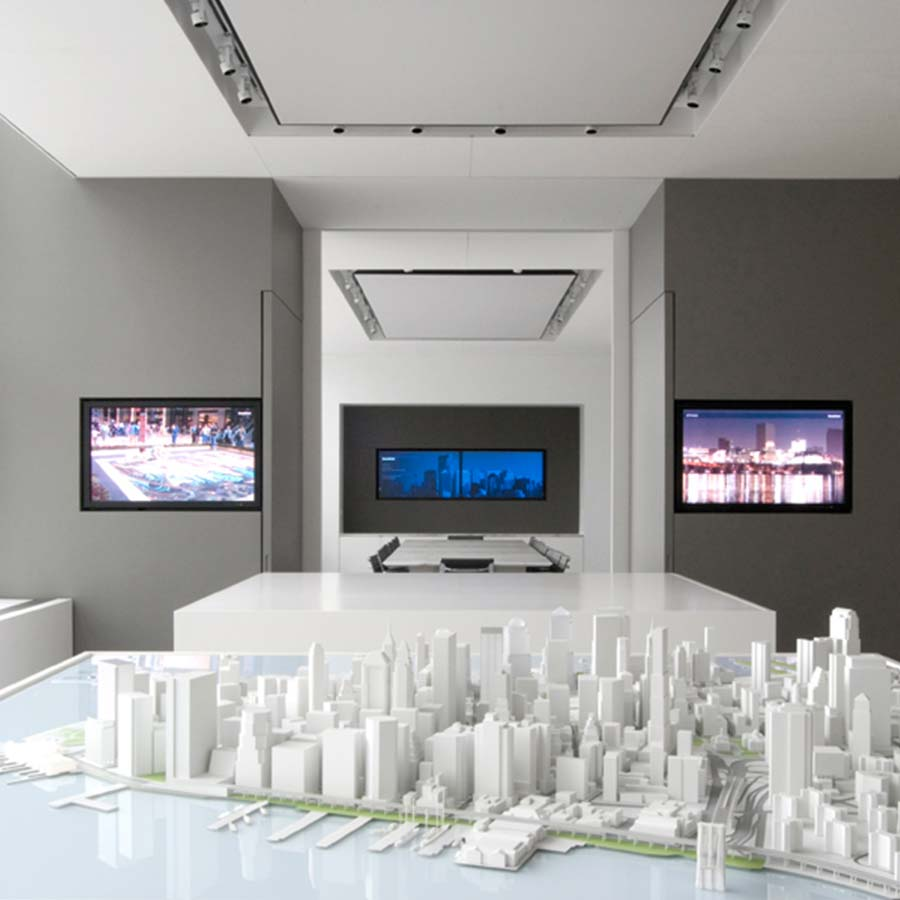 Union Design  Downtown Manhattan Site Models