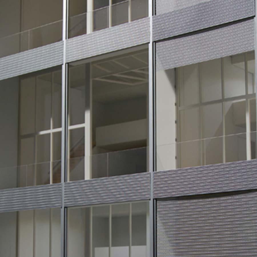 Shigero Ban Architects  Metal Shutter House
