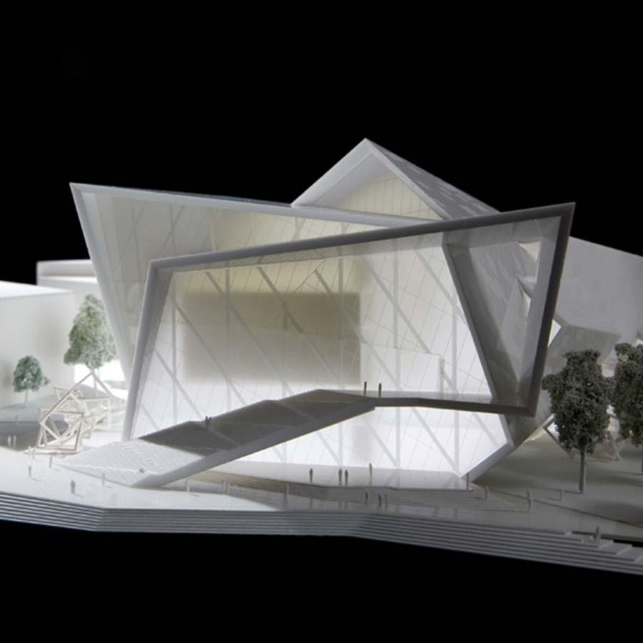 Studio Daniel Libeskind  Malmo Concert Hall (Competition)