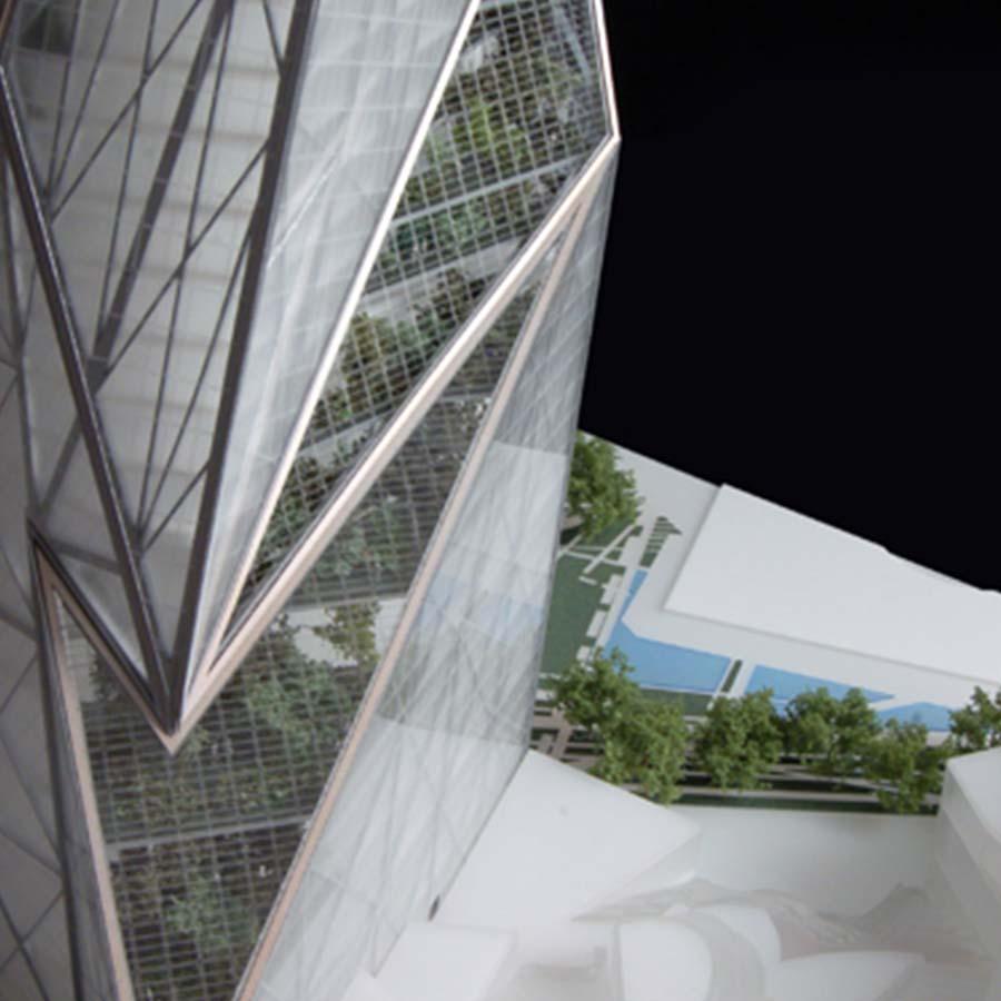 Studio Daniel Libeskind  Tour Signal La Defense Paris (Competition)