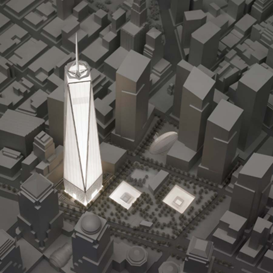 Financial District Site Model