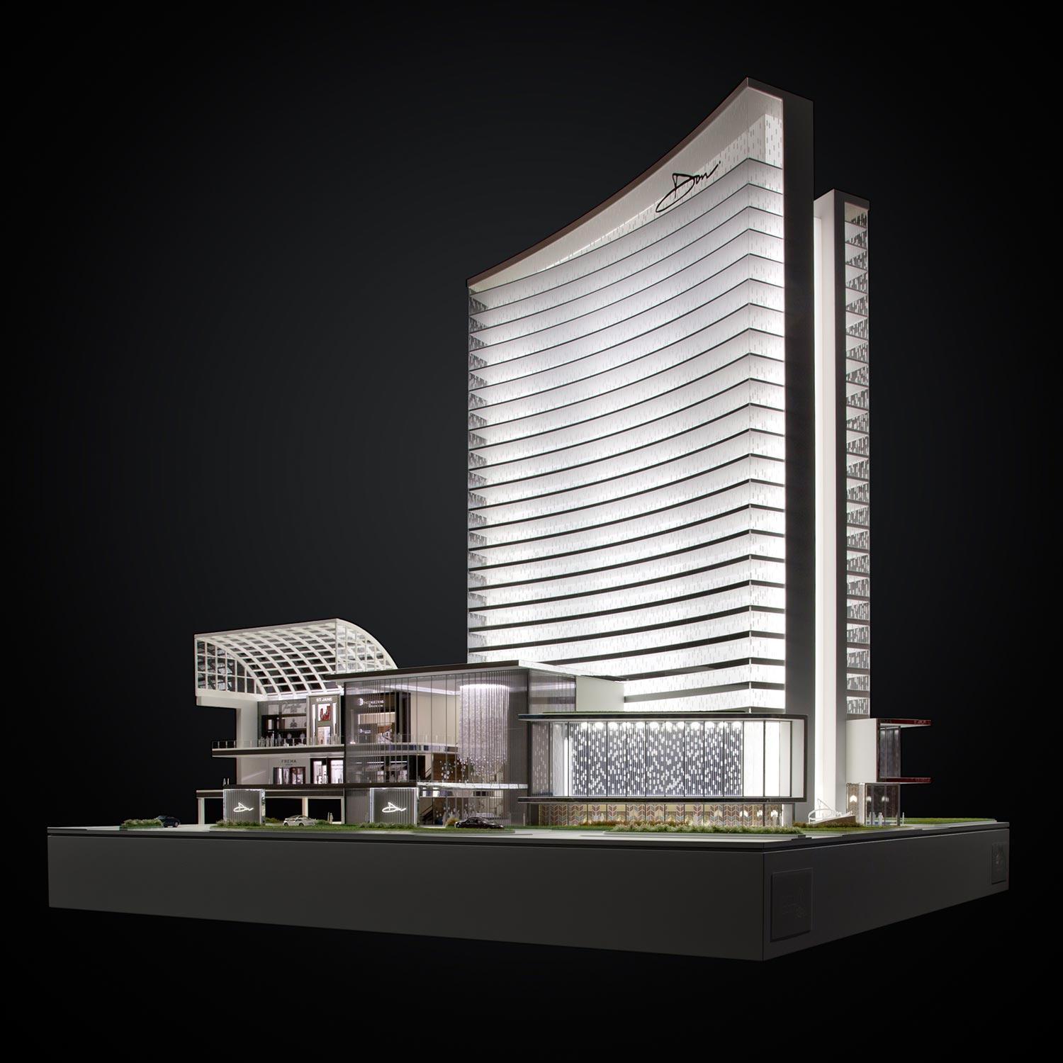 'Collections' Mall Tower