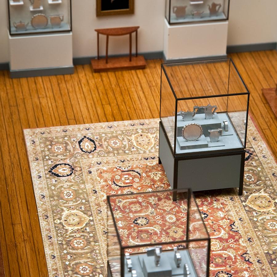 Selldorf Architects  Clark Art Museum Basement Gallery