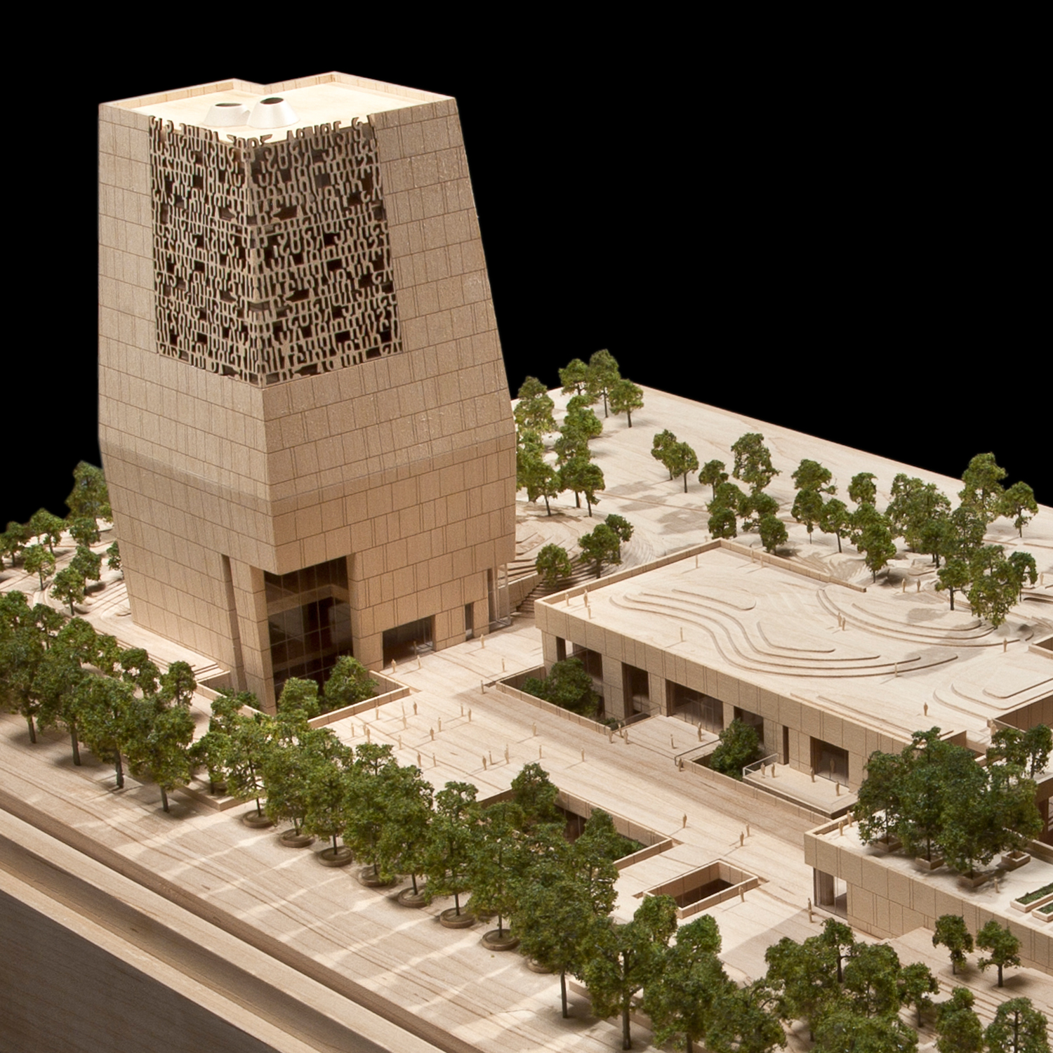 Tod Williams   Billie Tsien Architects  Obama Presidential Library