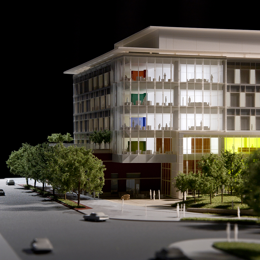 Odell Associates  UVA Hospital Building