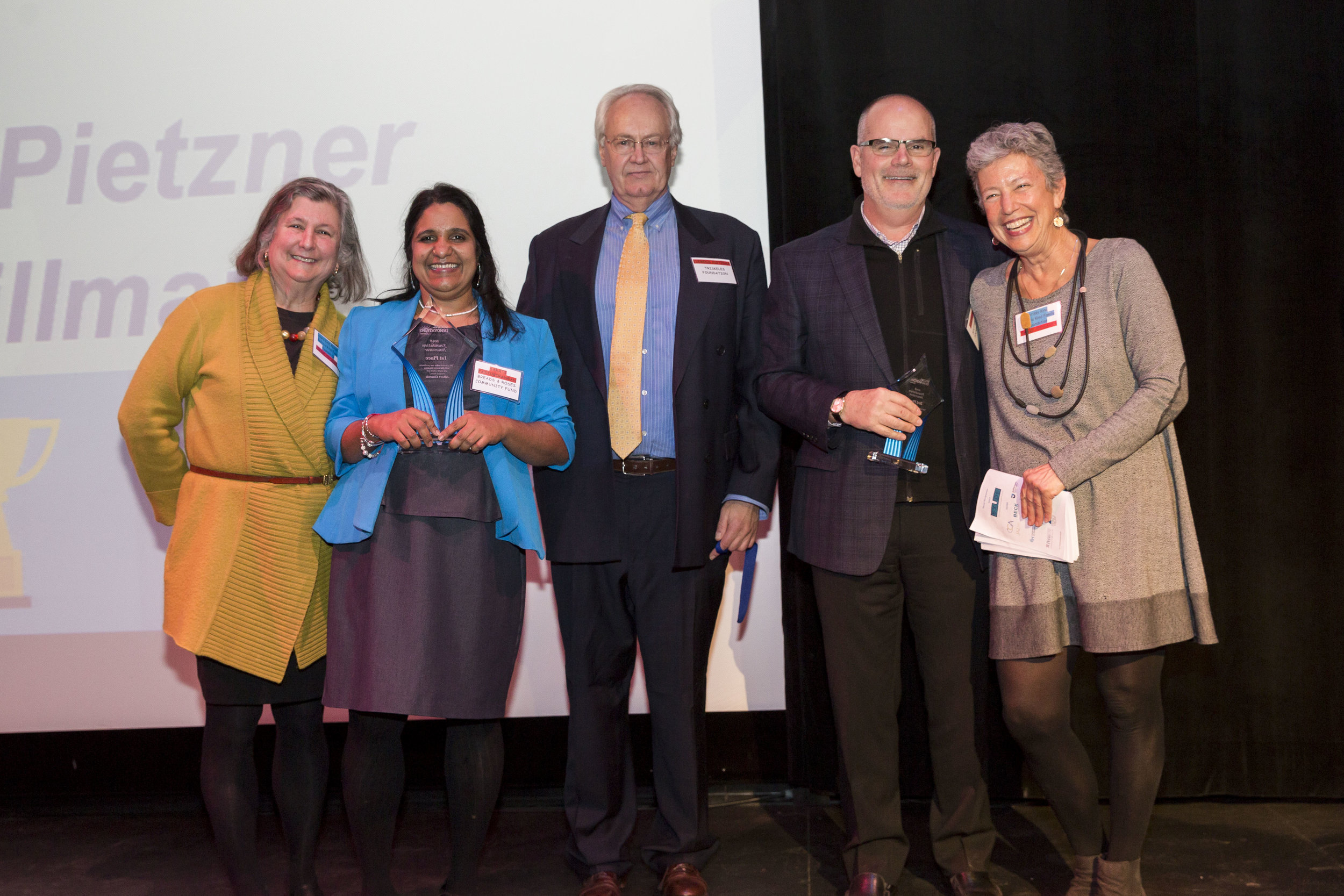 - FOUNDATION1st: AARATI KASTURIRANGAN, BREADS AND ROSES COMMUNITY FUND2nd: ENDRE WALLS, THE FRANKLIN FOUNDATION FOR INNOVATION3rd: JOSEPH PYLE, SCATTERGOOD FOUNDATION4th & 5th: CLEMENS PIETZNER, TRISKELES FOUNDATIONERIN & ERIN HILLMAN, EISENHOWER FELLOWSHIPS