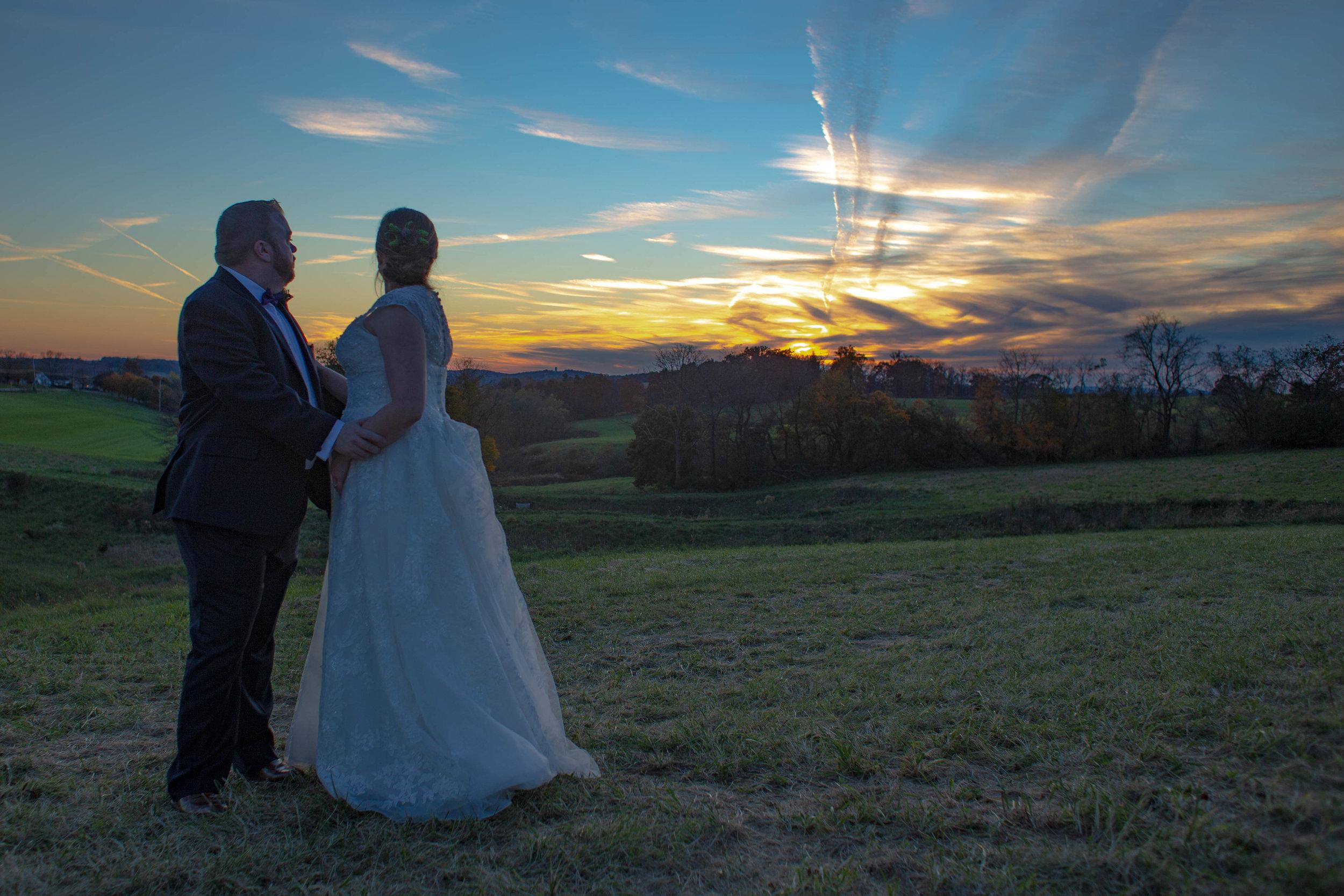 Cara & Steve sunset