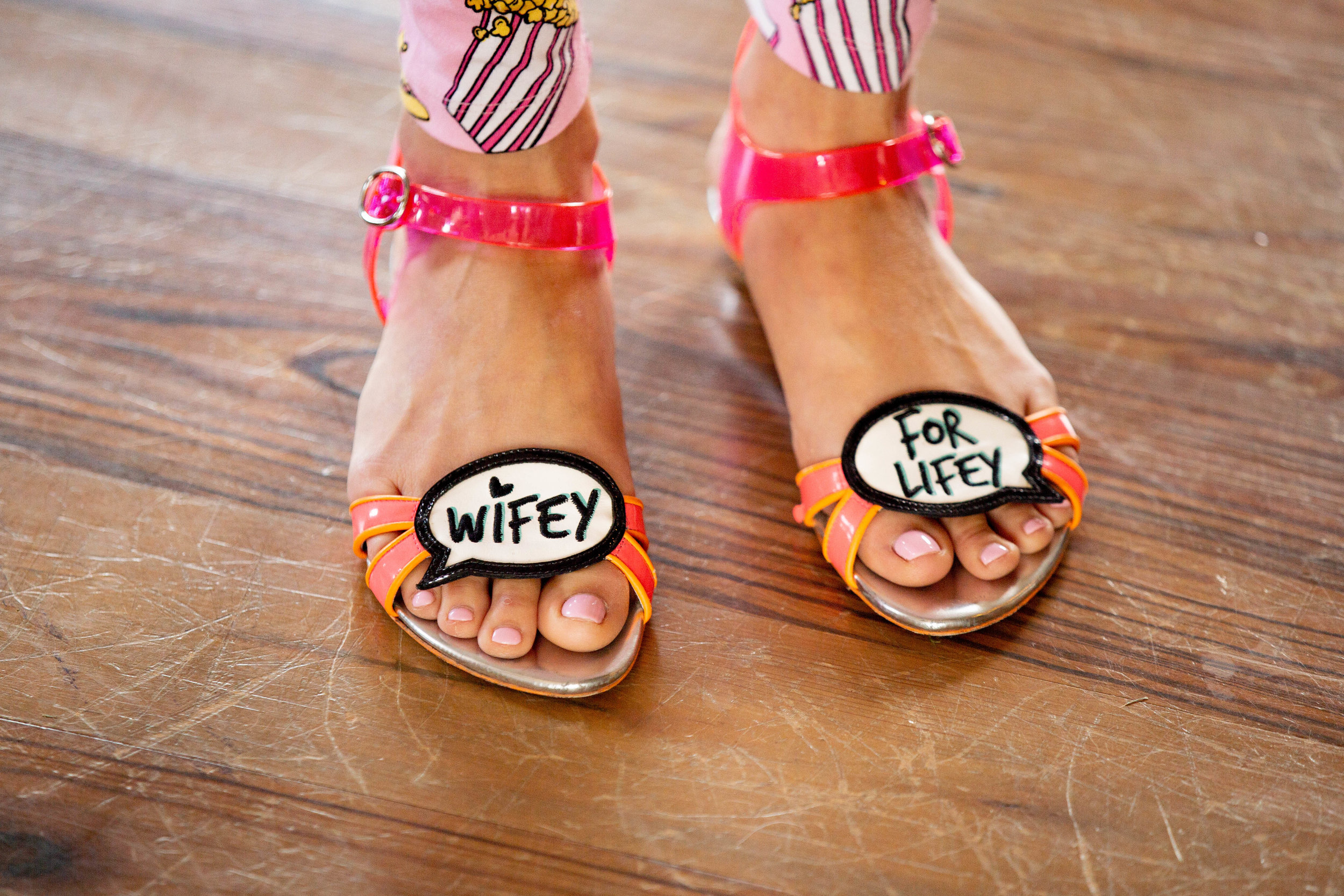 Wifey for Lifey shoes