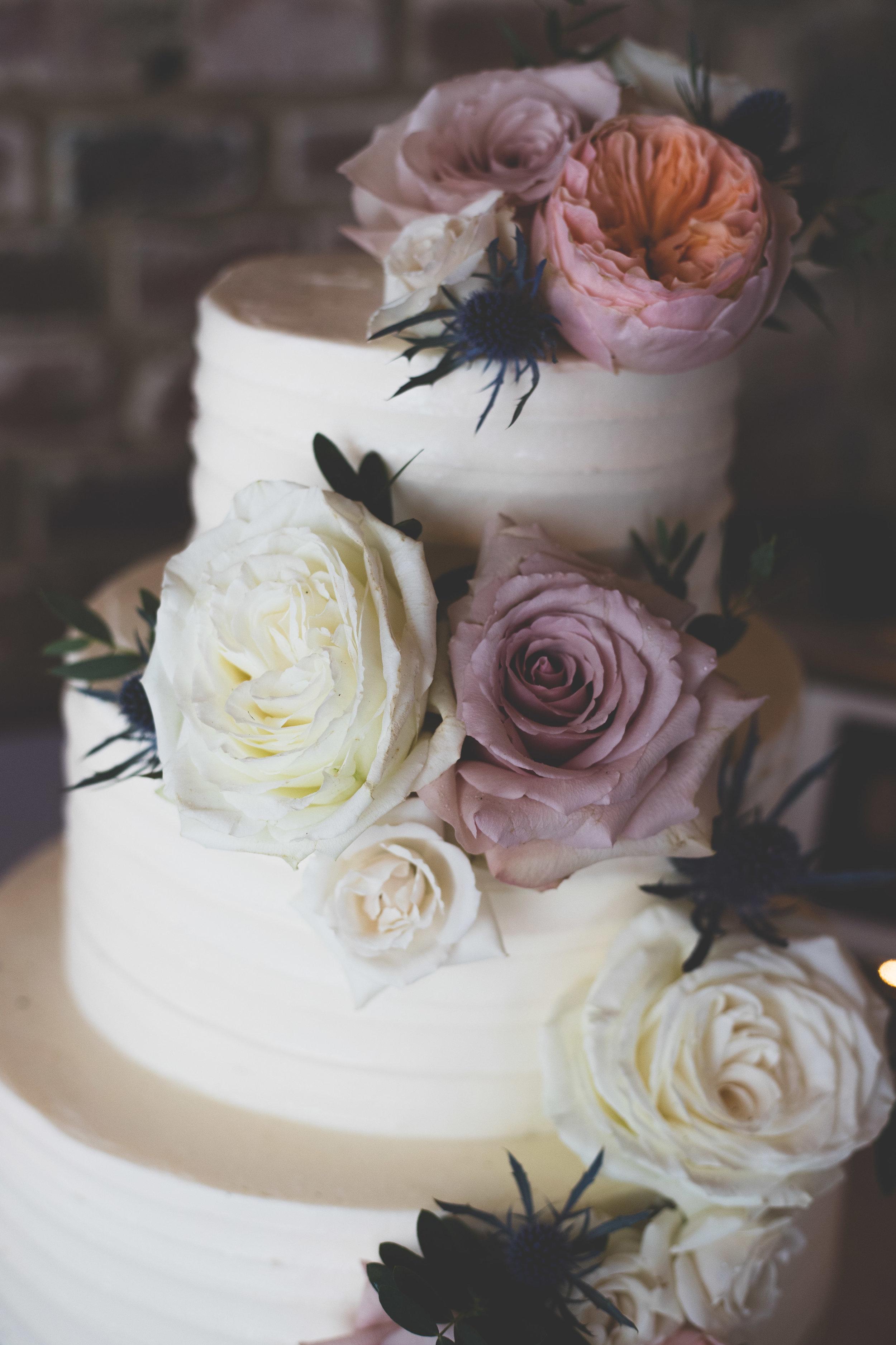 Sarah & Josh wedding cake
