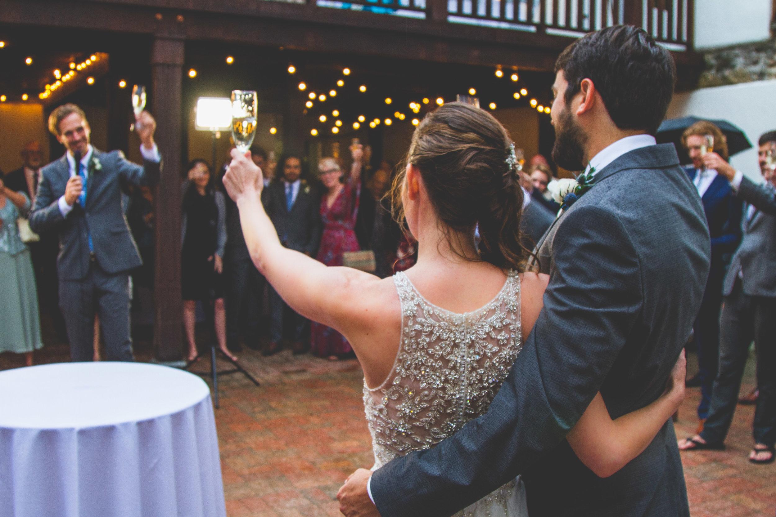 Sarah & Josh wedding toast