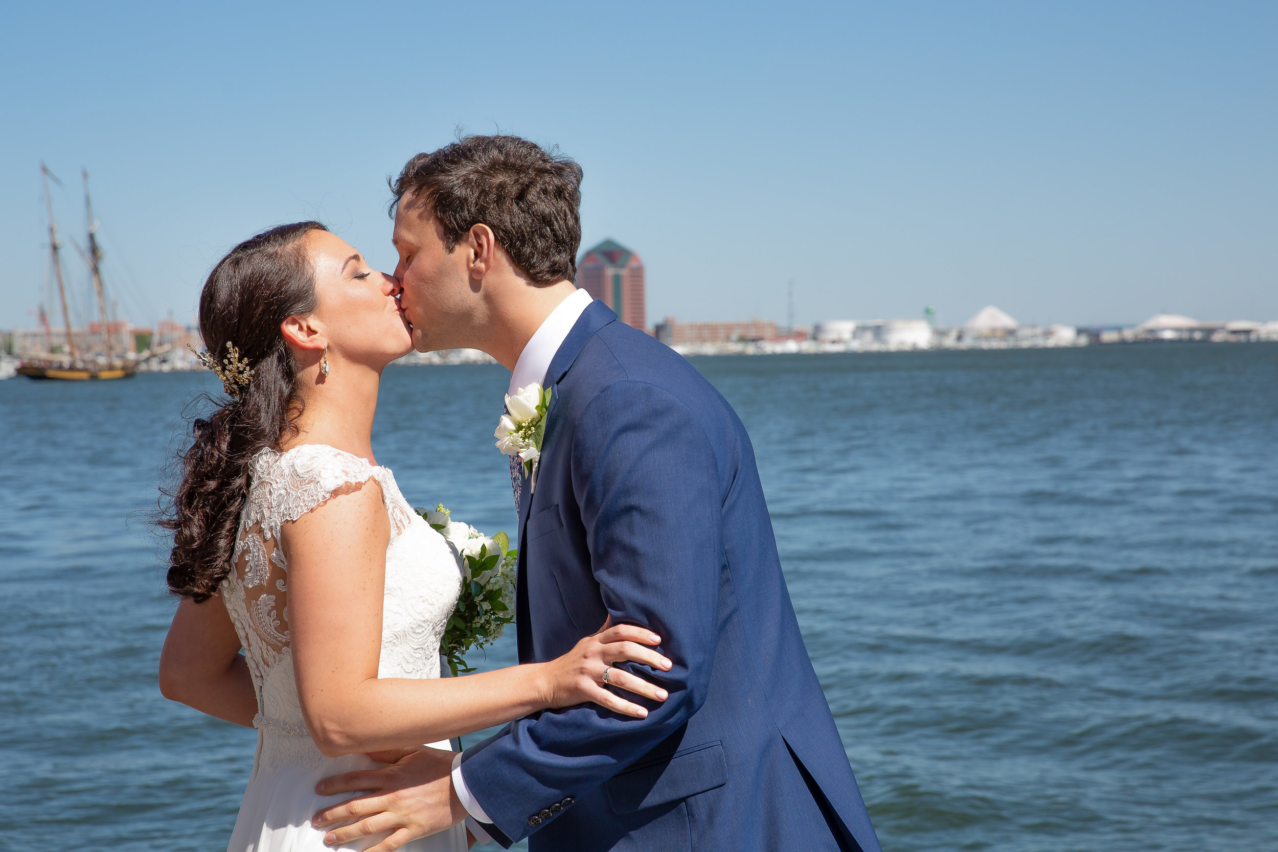 A Kiss by the Harbor