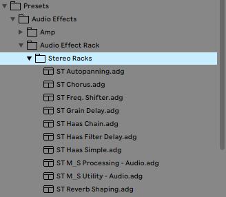 Stereo Audio Racks
