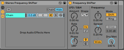 Frequency Shifter