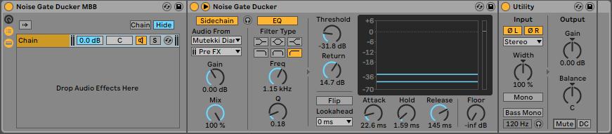 Fig 2. Noise Gate Ducker