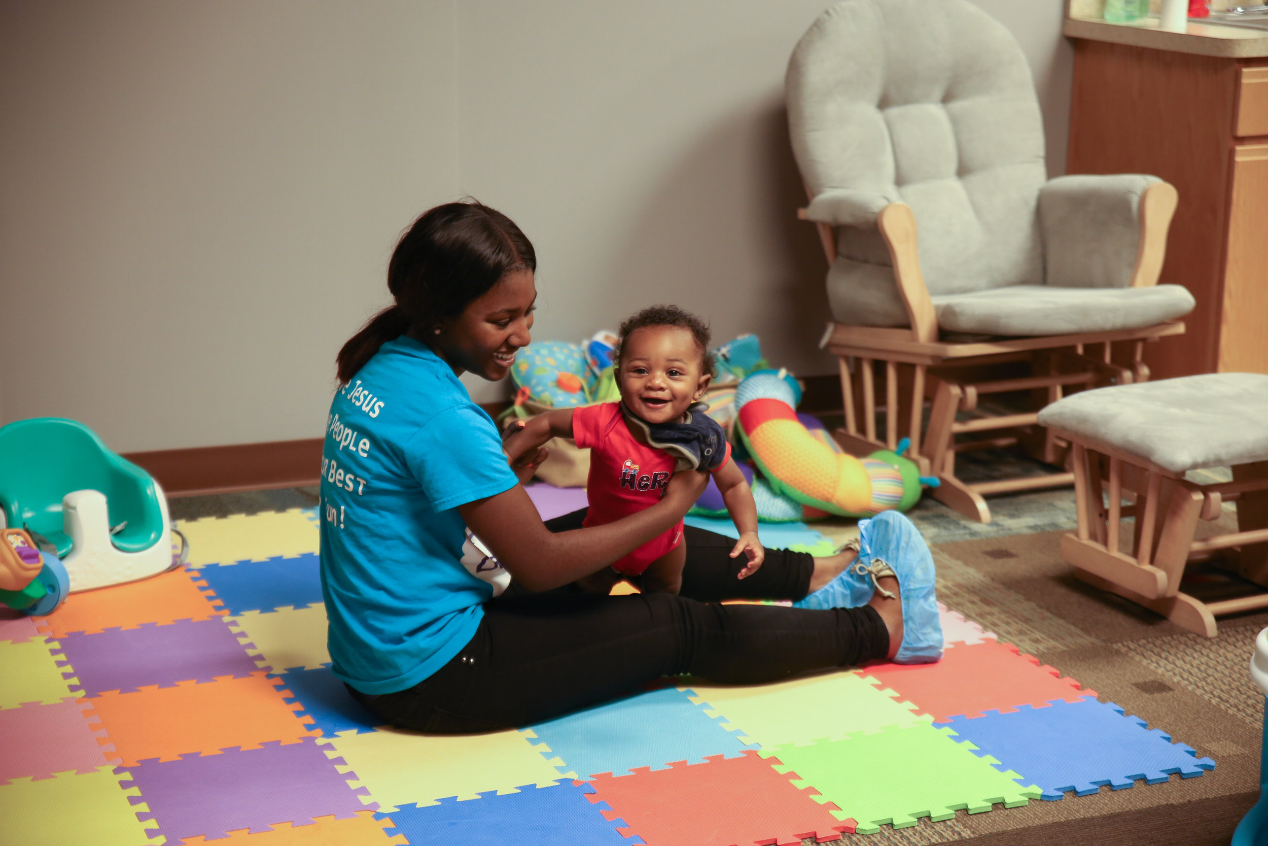 ALTITUDE (INFANT) - In Altitude, babies are welcomed into a calm, inviting atmosphere. Our Dream Team prays over your children all the while ensuring they are comfortable allowing you the comfort of knowing that your child is safe while you worship!