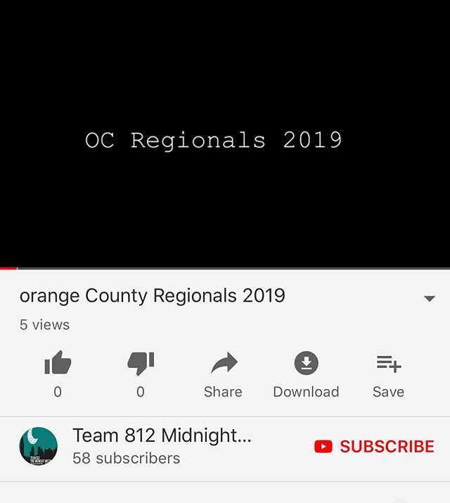 chairmens and orange county recap videos are up on our youtube! Link in bio 🌟