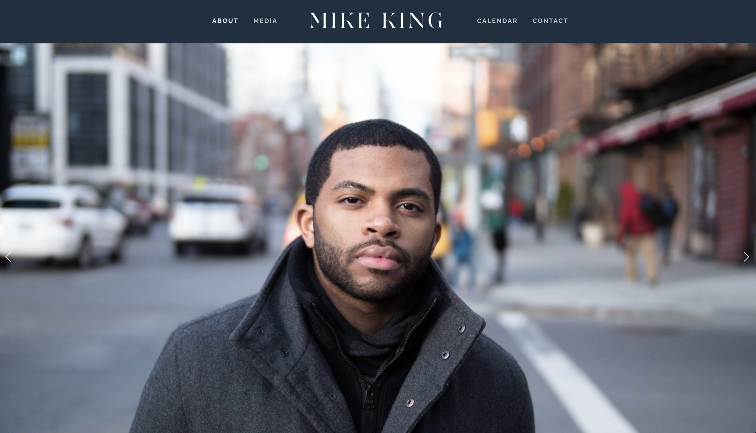Mike King Piano Website