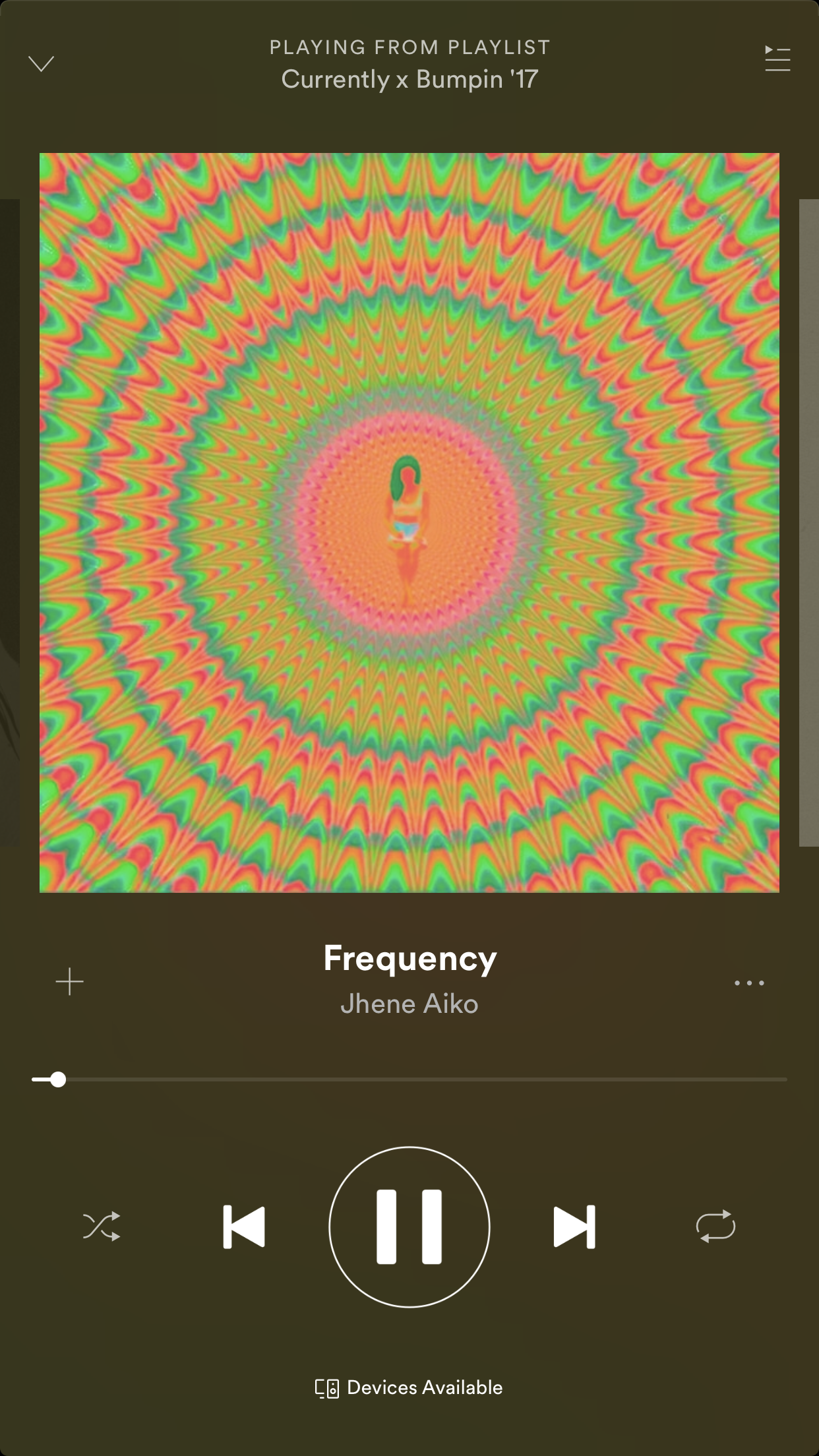 Jhene Aiko Frequency