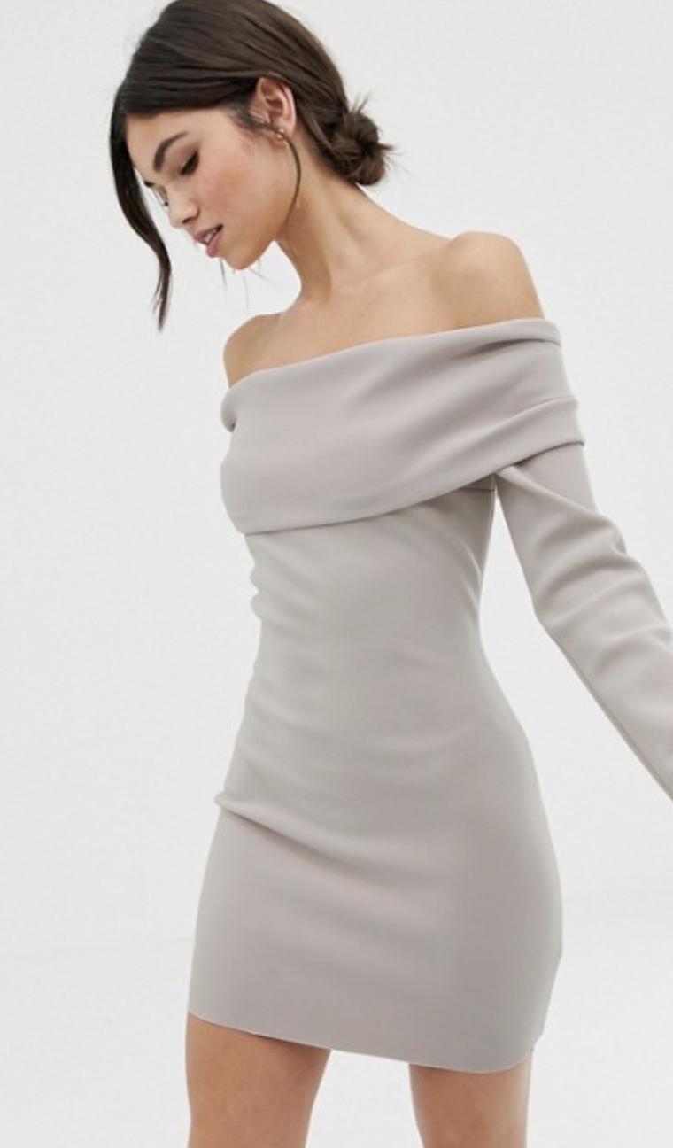 ASOS Bec + Bridge off shoulder Mini Dress $233