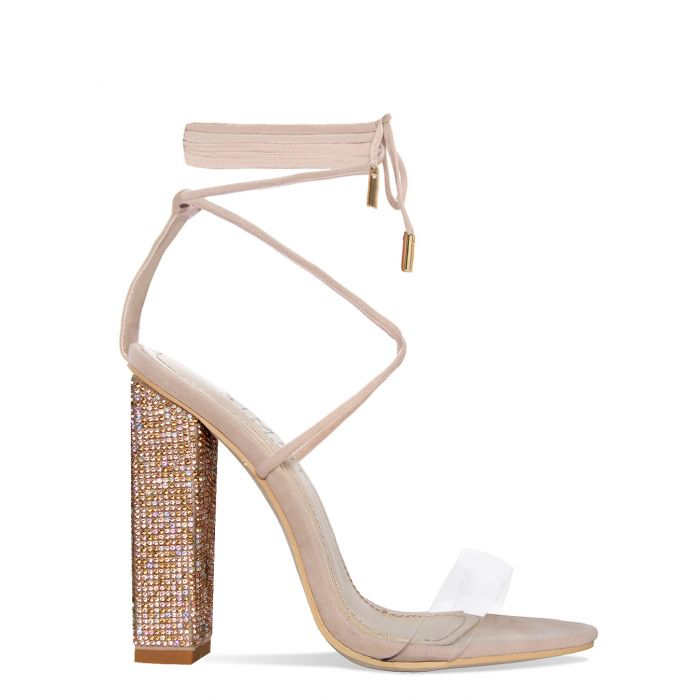 Simmi Tula Nude Suede Shoes [ $56.00]