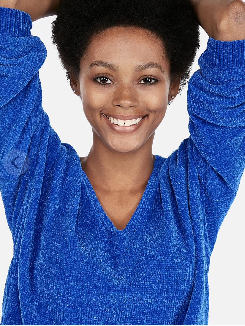 Express V-Neck Sweater [ $30.99 ]