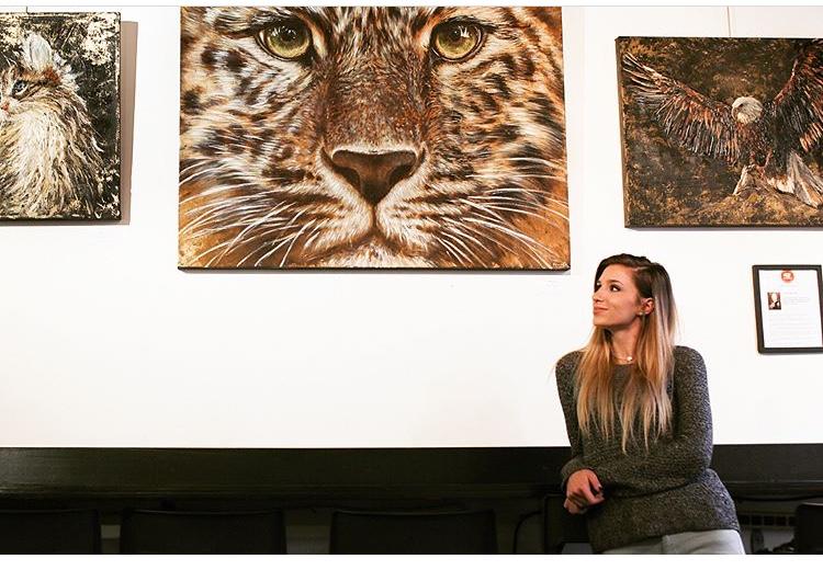 Elina Dmitruk at Third Culture Coffee