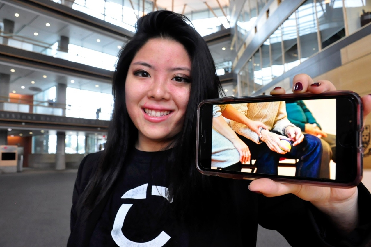 Family testimonials compelled Christina Chiu to build an app that was conceived in 2016. (MATHEW MCCARTHY /WATERLOO REGION RECORD)