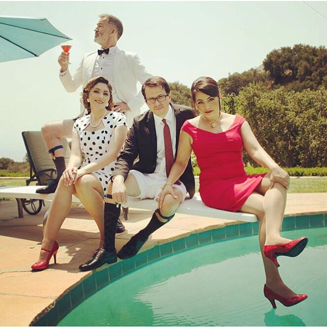 Dreaming of summer days again/ photo by @tedmills #madmenfashion  #keyparty #bandphoto