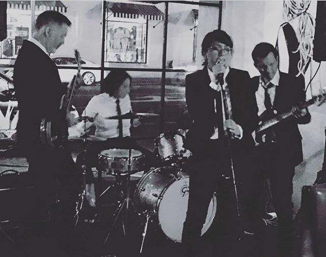 Our first show ever #band #femalevocalist #bandshot #beatlemania