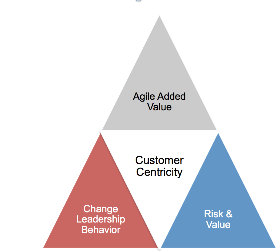 Agile Leadership Shift Triangle