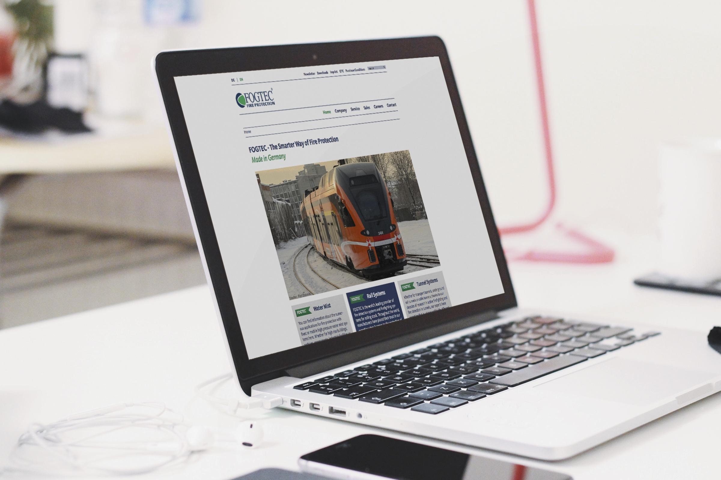 Fogtec - Corporate Website