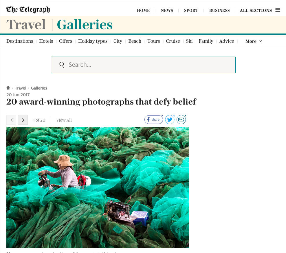 """The Best of LensCulture, Volume 1"" Reviewed in The Telegraph -"