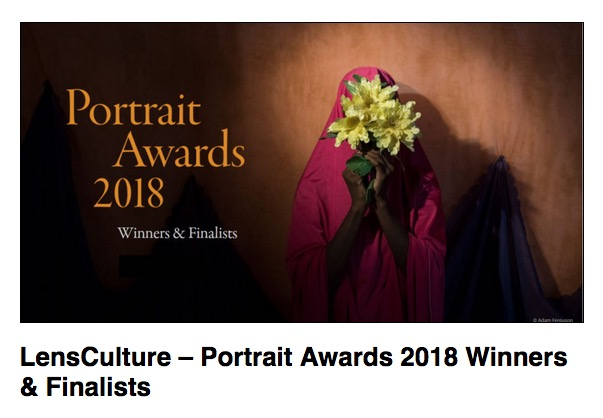 Photologio: LensCulture Portrait Awards 2018 Feature Winners, Jurors' Picks and Finalists -