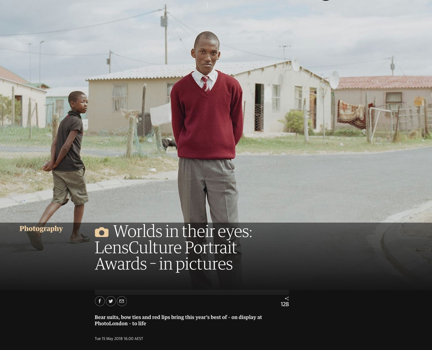 Guardian: Worlds in their eyes: LensCulture Portrait Awards – in pictures  -