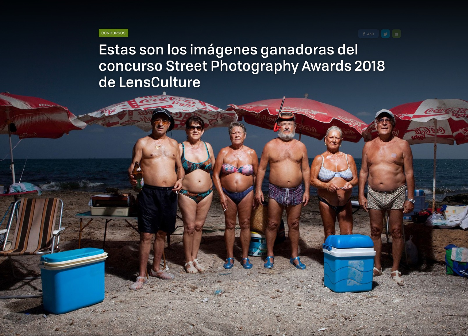 LensCulture Street Photography Winners and Juror's Picks Featured on Xatakafoto -