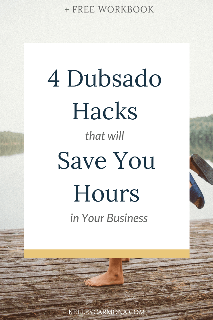 Who doesn't love a good shortcut?  I don't know about you, but any time I can save time in my business, I do a little happy dance.  If you run a service-based business, I've got some game-changing news for you:  You need Dubsado.  Dubsado is a powerful CRM program that saves me hours of time in my business every week!  I've talked before about how  Dubsado is an integral part of keeping my business organized . But if you're looking to save hours every week, then you need to be implementing these 5 Dubsado hacks!