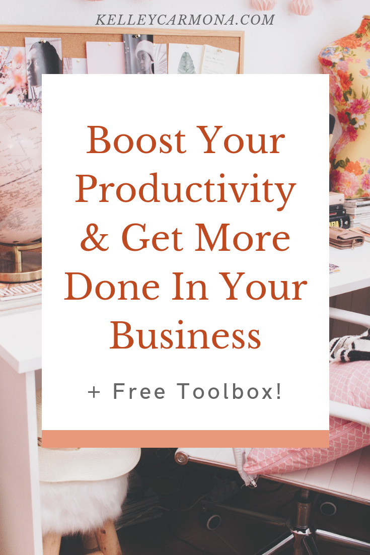 No matter what business you're in, there are so many moving parts that it can be hard to keep track of everything.  Whether your to-do list has 3  giant  things or 50  tiny  things, it can be really easy to get overwhelmed.  That's why today, I'm talking productivity and time management that will help you skyrocket that productivity and get more done in less time!