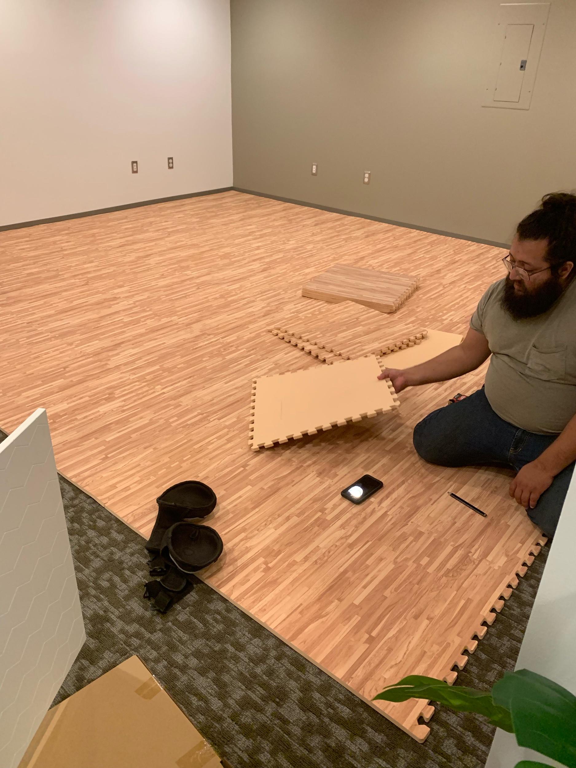 Most Comfortable Floor EVER