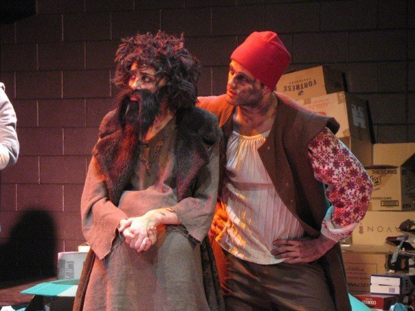 Yep, that's me on the left as Grumio. That's Chris Olwage on the right!