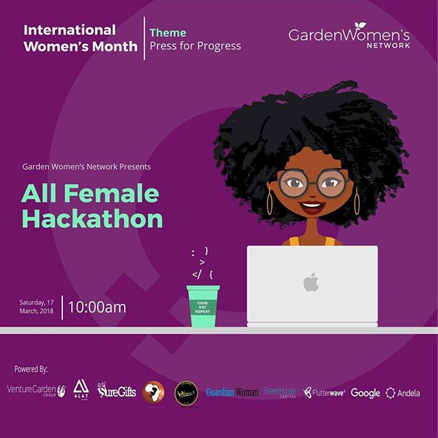 Calling all women and girls who code!  Super duper excited to co-sponsor this event! Register for this All Female Hackathon and send me ideas when it's done!  Sign up here: bit.ly/gwnshecodes2  #WomenWhoDo #GirlsWhoDo #BlackGirlMagic