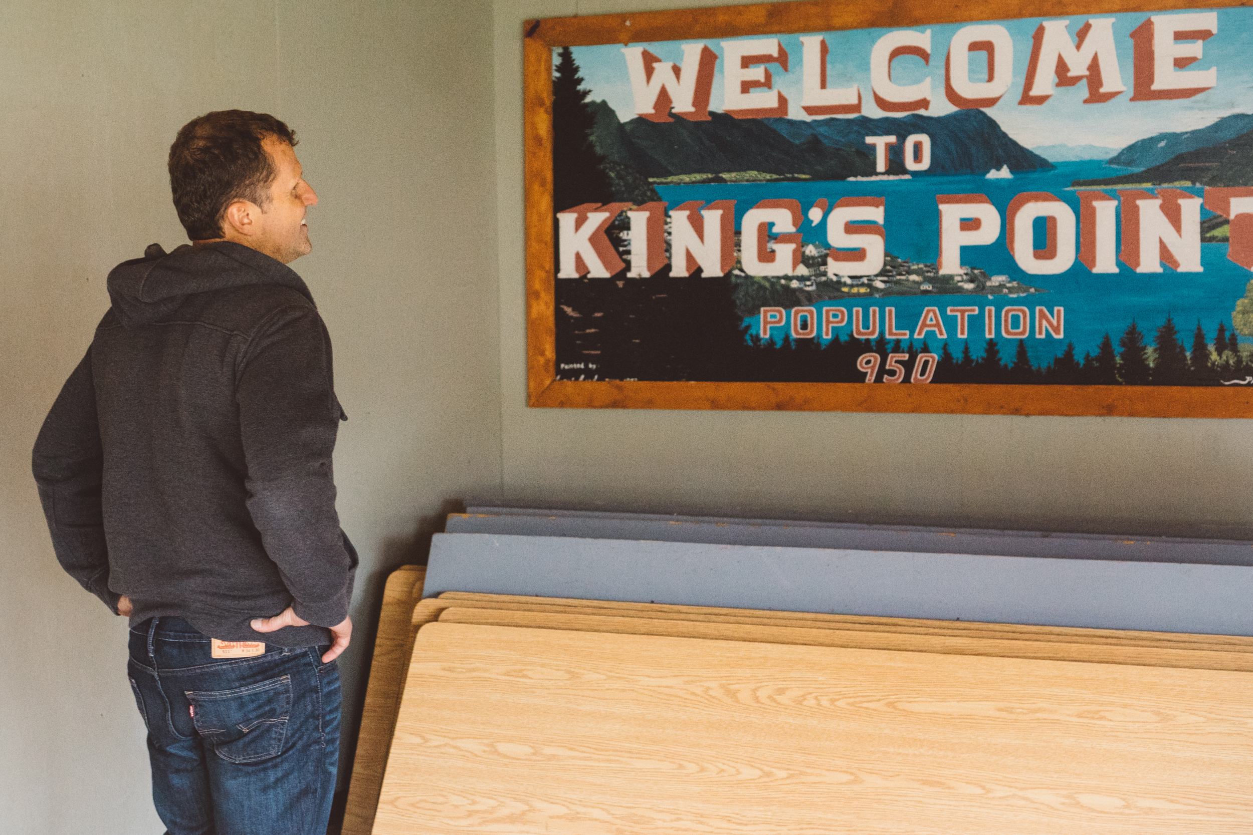 Alexander Murray Kings Point Sign