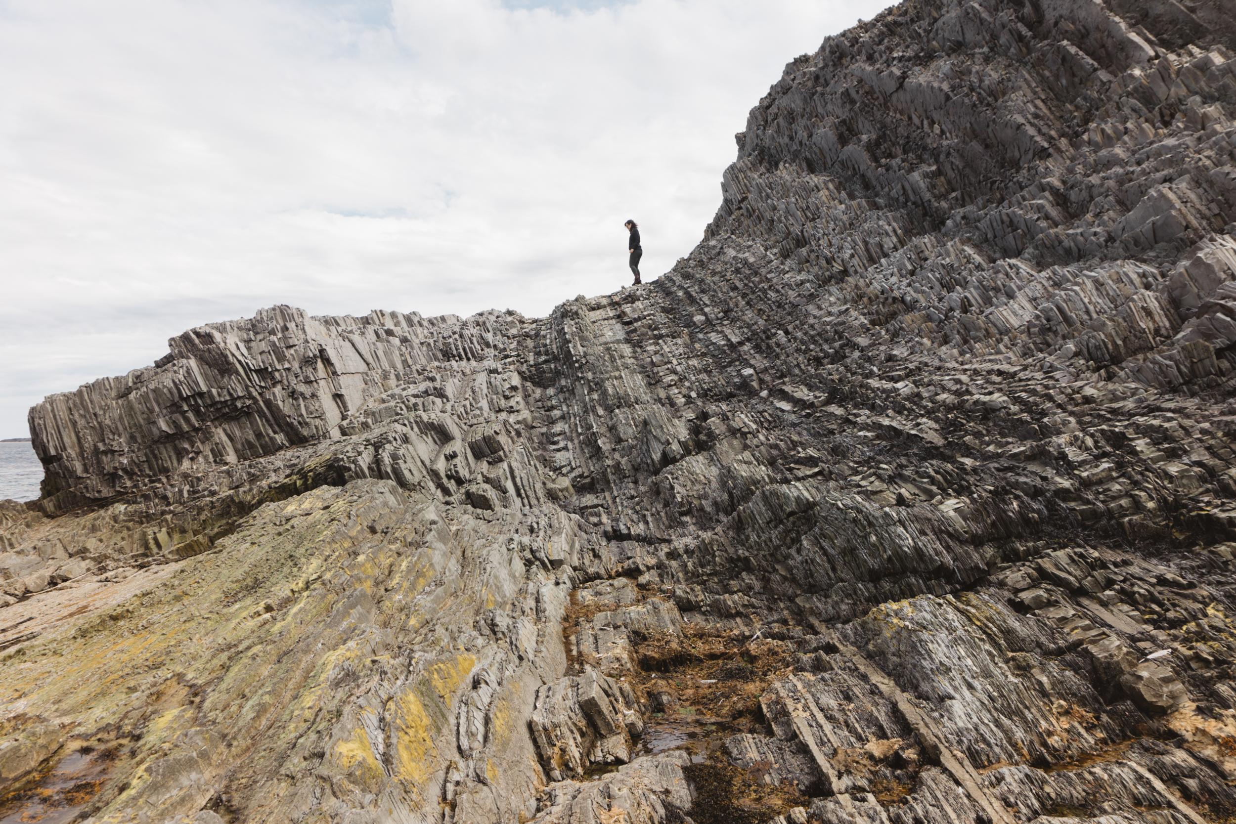 Gros Morne Cliff