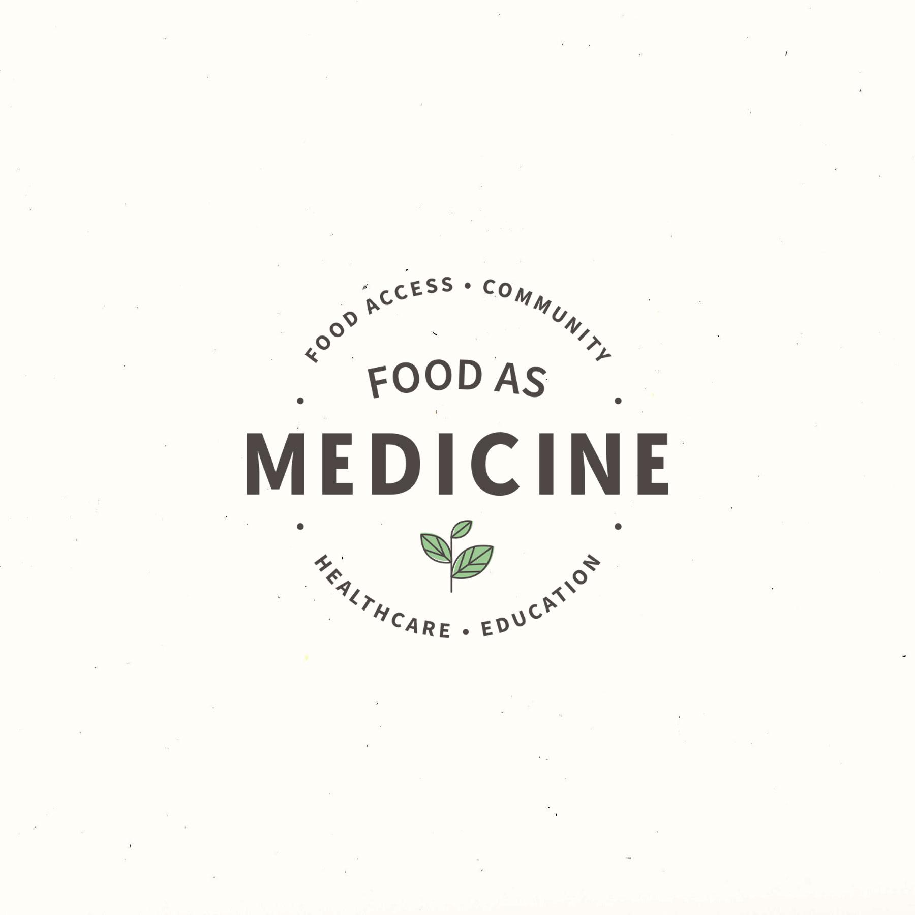 Food as Medicine:  Branding, Illustrations, Marketing brochure.