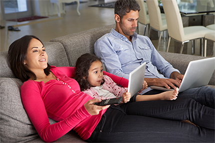 In a digital family, screen time is the new normal