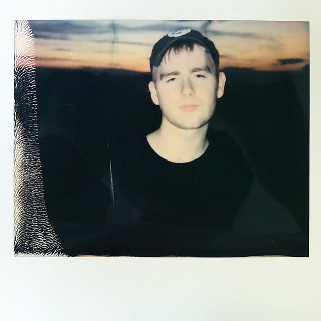 MURA MASA @the_mura_masa  a nice guy from an island who makes great music #muramasa #polaroid #instant #impossibleproject #nofilter #beats
