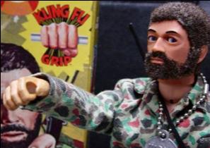 GI Joe with the Kung Fu Grip - circa 1972