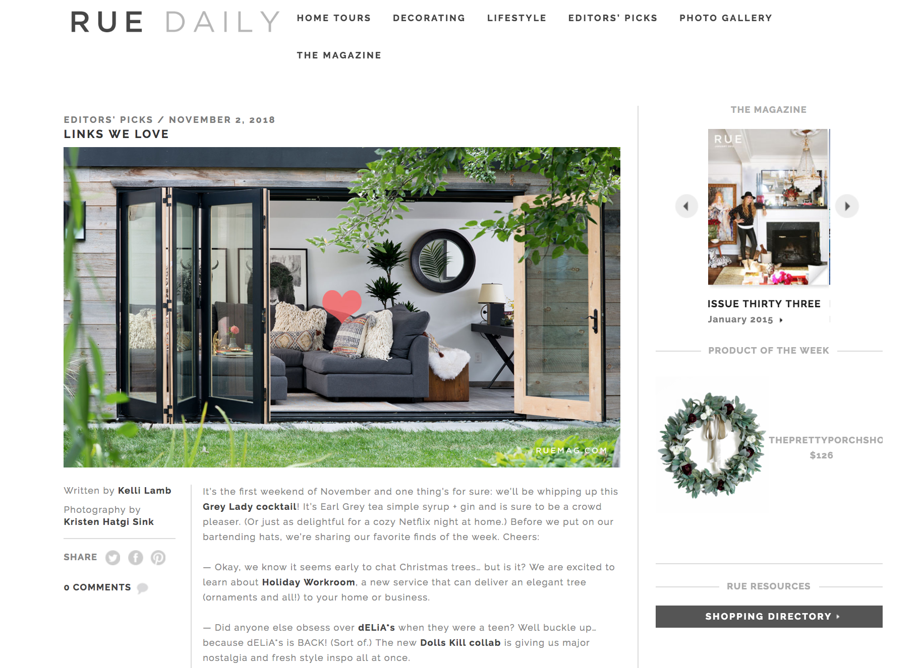RUE DAILY -