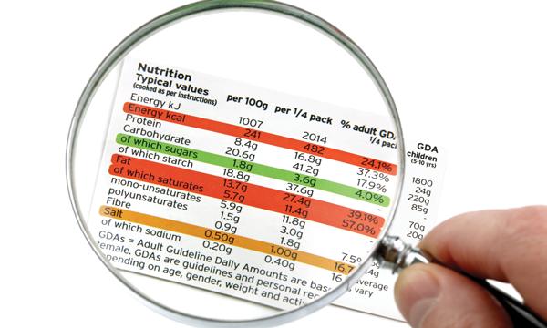 Nutrition Information Panel