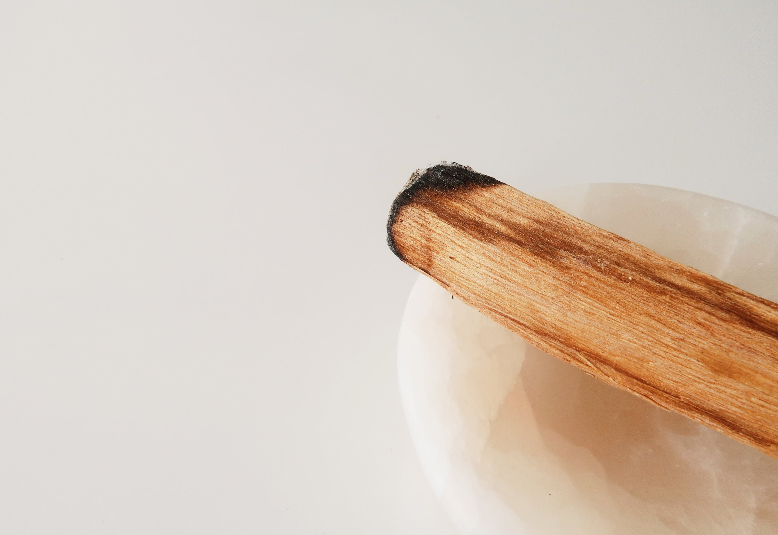 palo santo - Comes from the Palo Santo trees of South America