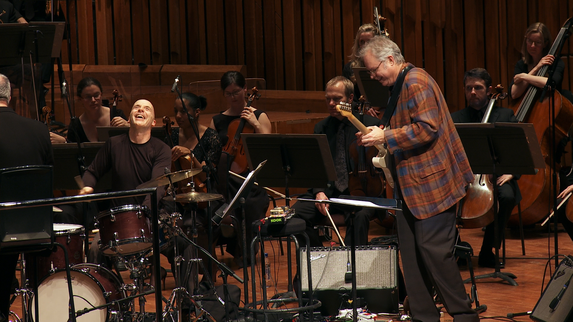 Joey Baron & Bill Frisell with the BBC Symphony Orchestra - by Emma Franz.jpg